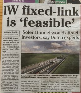 IOW Fixed LINK is Feasible / solent freedom tunnel