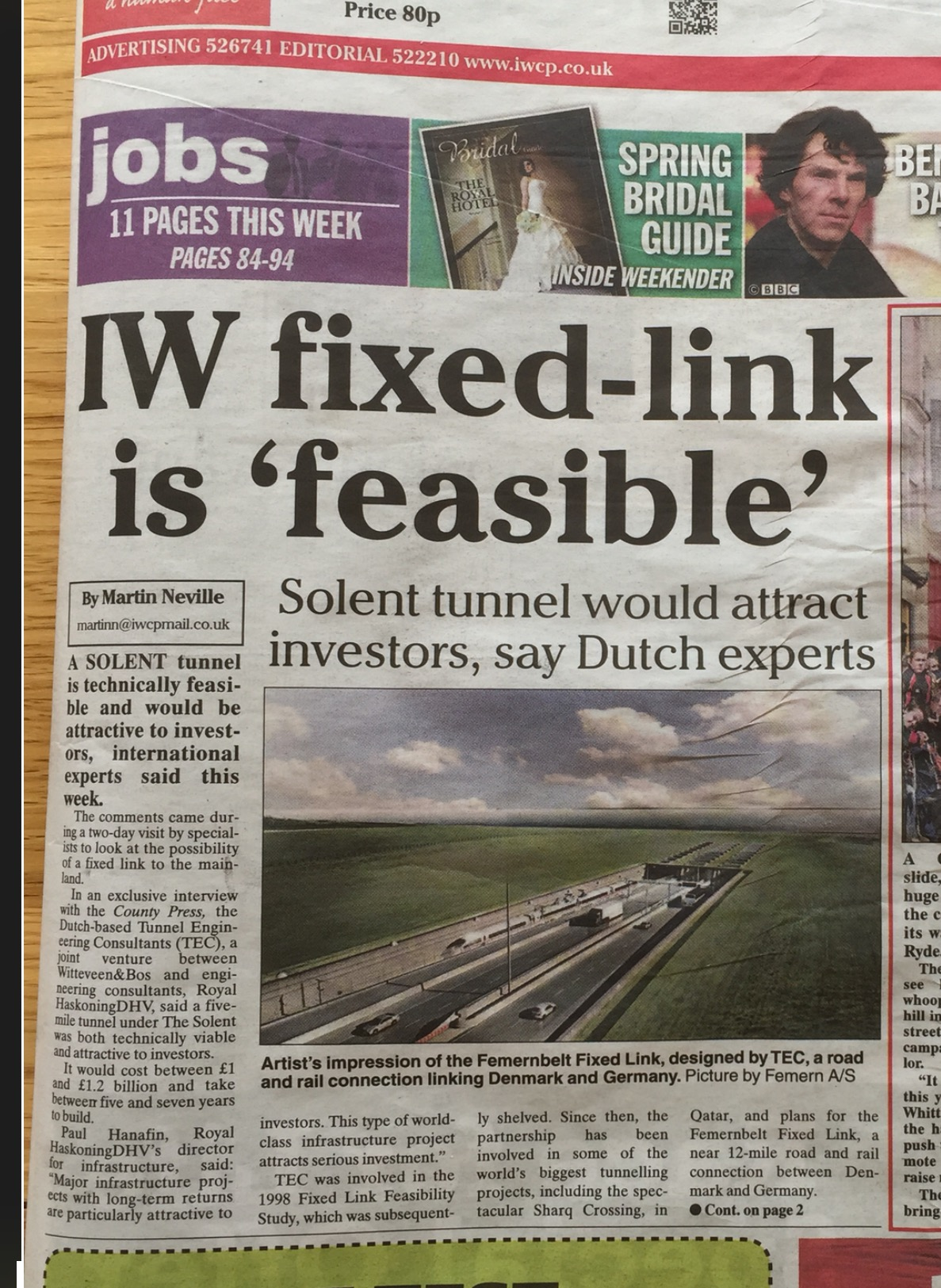 IOW Fixed Link is feasible