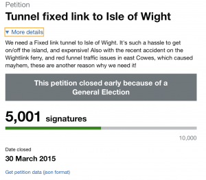 Yes to IOW Fixed Link